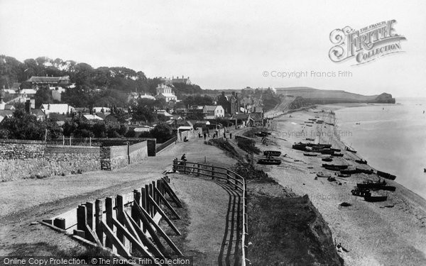 Budleigh Salterton, From West 1898