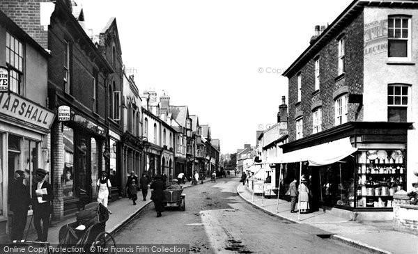 Budleigh Salterton, High Street 1918