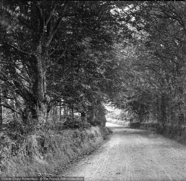 Budleigh Salterton, Knowle Hill 1890