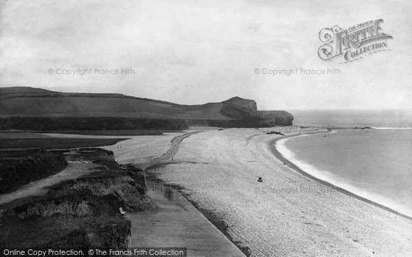 Budleigh Salterton, Mouth Of The Otter 1890