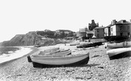Budleigh Salterton, On The Beach 1901