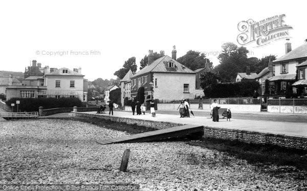 Budleigh Salterton, Promenade 1906