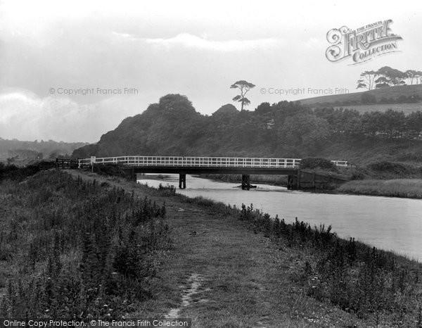 Budleigh Salterton, River Otter 1928