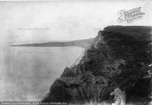 Budleigh Salterton, Sherbrook Chine 1906