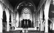 Budleigh Salterton, St Peter's Church Interior 1898