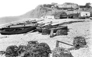 Budleigh Salterton, The Beach 1925