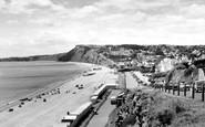 Budleigh Salterton, the Beach c1960