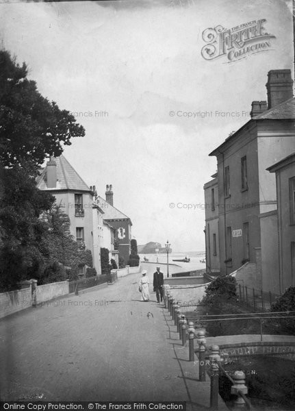 Budleigh Salterton, The Octagon, House Where Millais Painted 'boyhood Of Raleigh' 1914