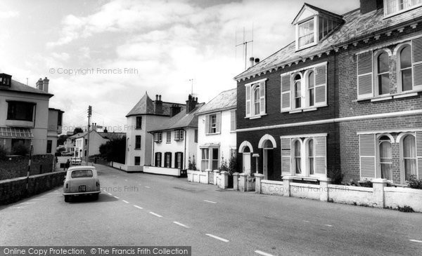 Budleigh Salterton, The Octagon Mallais' House c.1965