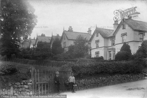 Budleigh Salterton, Westbourne Terrace 1906