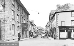 Builth Wells, Broad Street c.1950