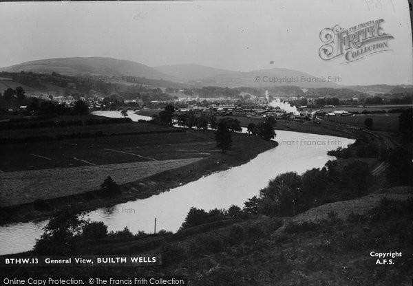 Photo of Builth Wells, c.1935