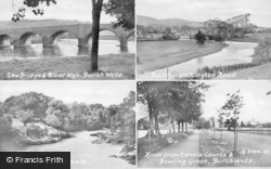 Builth Wells, Composite c.1935