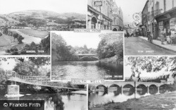 Builth Wells, Composite c.1955