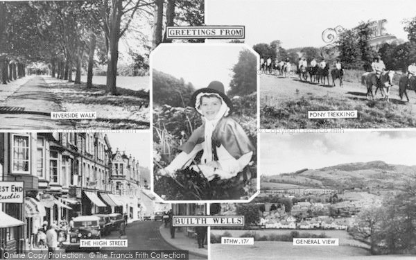 Photo of Builth Wells, Composite c.1960