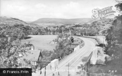 Builth Wells, From Caerberris c.1935
