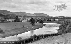 Builth Wells, From Kington Road c.1935