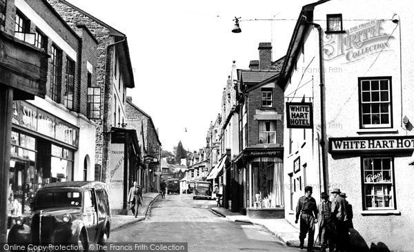 Photo of Builth Wells, High Street 1951