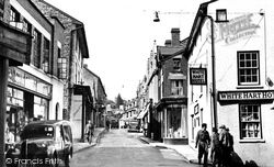 Builth Wells, High Street 1951