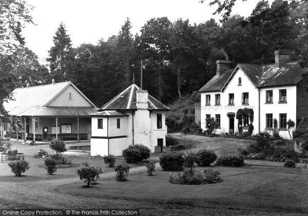 Builth Wells, Park Wells c.1935