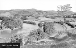 Builth Wells, River Wye c.1955