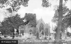 Builth Wells, St Mary's Church c.1935