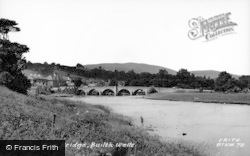 Builth Wells, The Bridge c.1950