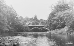 Builth Wells, The Irfon Bridge c.1950