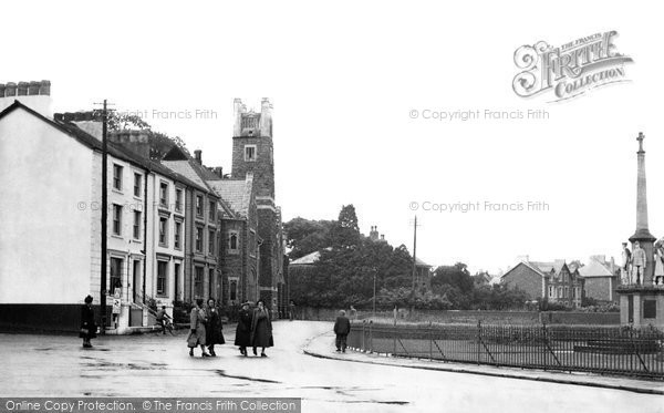 Builth Wells, The Strand 1951