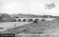 Builth Wells, The Town Bridge c.1935