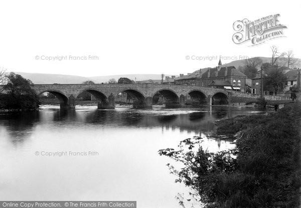 Photo of Builth Wells, Wye Bridge 1936