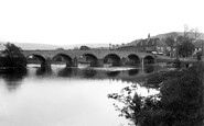 Builth Wells, Wye Bridge 1936