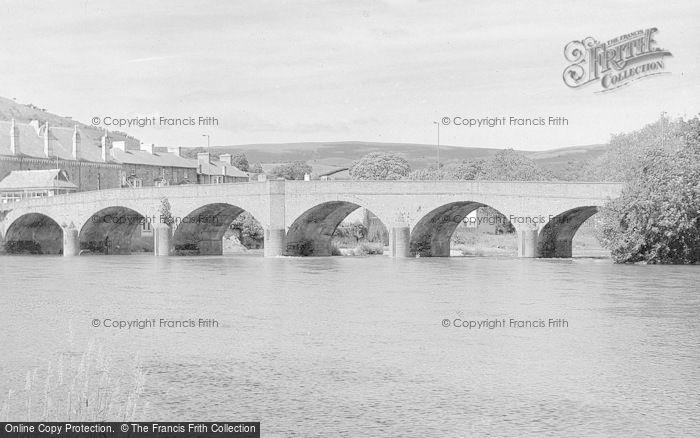 Photo of Builth Wells, Wye Bridge c.1930