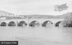 Builth Wells, Wye Bridge c.1930