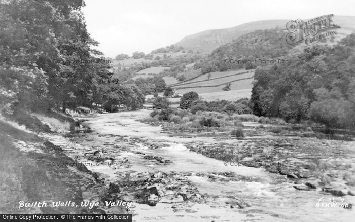 Photo of Builth Wells, Wye Valley c.1935