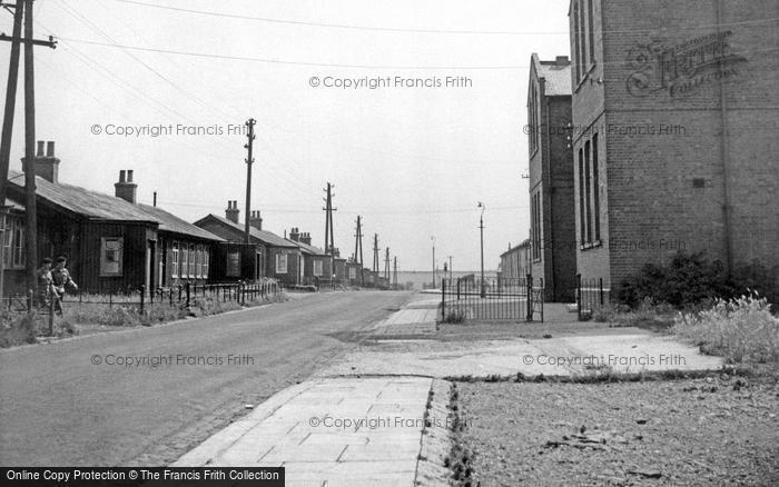 Bulford, Bond Street And School c.1955