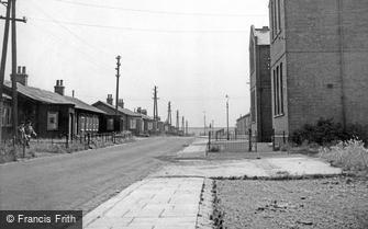 Bulford, Bond Street and School c1955