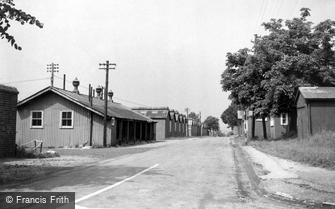 Bulford, Gunner Street c1955