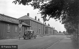 Bulford, Milne Road c1955