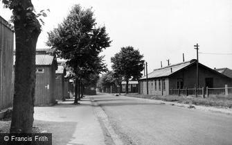 Bulford, Wing Road c1955