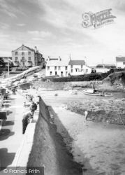 Bull Bay, Beach And Bull Bay Hotel c.1960