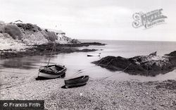 Bull Bay, The Beach And Craig-Y-Wylan c.1955