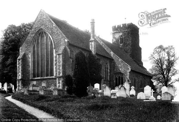 Bulmer, Church 1906, Essex.  (Neg. 55557a)  © Copyright The Francis Frith Collection 2005. http://www.francisfrith.com