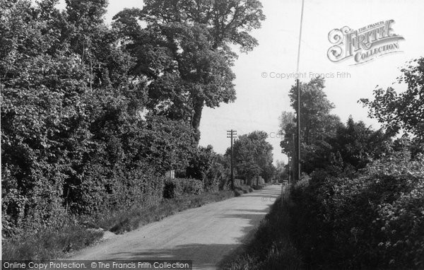 Bulphan, Church Lane c.1955