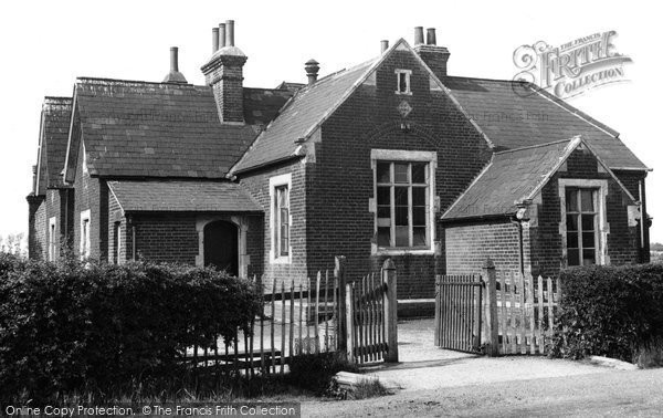 The School, Bulphan, c.1955, Essex.  (Neg. B323007)  © Copyright The Francis Frith Collection 2005. http://www.francisfrith.com