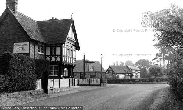 Photo of Bunbury, Crewe Arms Hotel c 1960 - Francis Frith