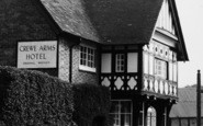 Bunbury, Crewe Arms Hotel c.1960
