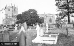 Bunbury, St Boniface's Church c.1960