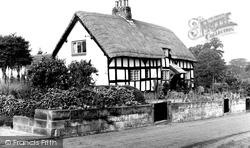 Bunbury, Tudor Cottage c.1960
