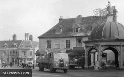 Bungay, Market Place 1951
